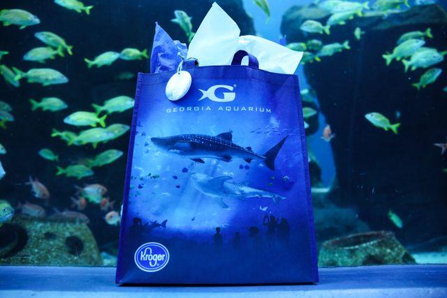 Georgia Aquarium Announces Partnership with Kroger to Debut Reusable Bags
