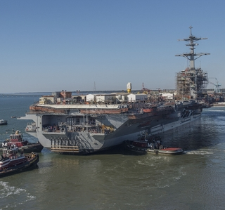 Video Release--Newport News Shipbuilding Completes Dry Dock Work for Aircraft Carrier USS Abraham Lincoln (CVN 72) Refueling and Complex Overhaul