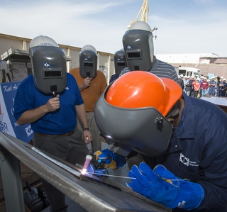 Photo Release -- Keel Authenticated on Ingalls-built National Security Cutter Munro
