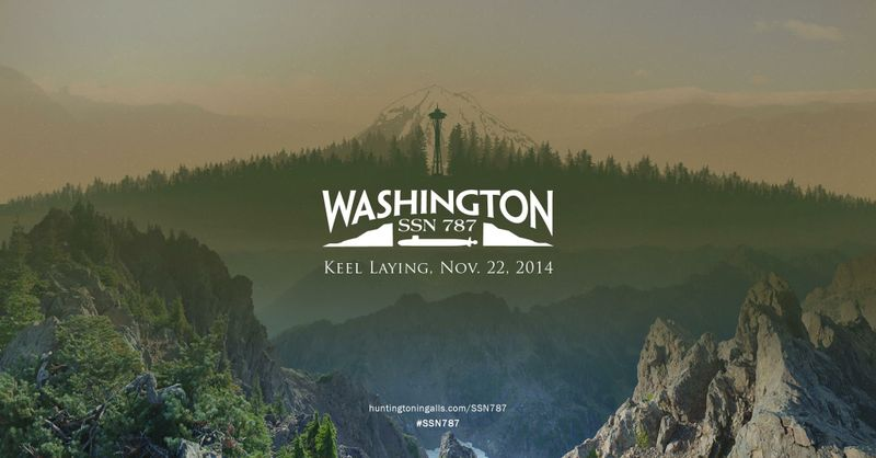 Washington (SSN 787) Keel-Laying
