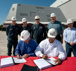 Multimedia Release -- Ingalls Shipbuilding Delivers Composite Deckhouse for Zumwalt (DDG 1000)