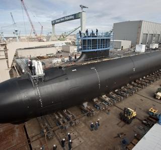 Photo Release -- Newport News Shipbuilding Launches Virginia-Class Submarine Minnesota (SSN 783)