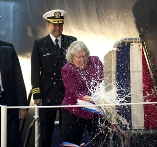 Photo Release -- Newport News Shipbuilding Christens 10th Virginia-Class Submarine
