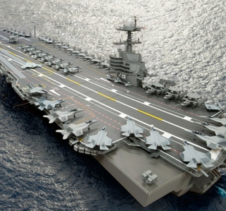 Photo Release -- HII Awarded $296 Million Construction Preparation Contract Modification for John F. Kennedy (CVN 79)
