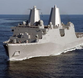 Photo Release -- Ingalls Shipbuilding's Seventh LPD Successfully Completes Builder's Sea Trials
