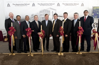 Apprentice School Groundbreaking
