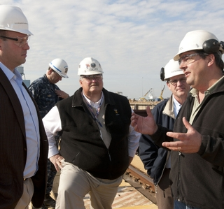 Photo Release -- Newport News Shipbuilding Hosts U.S. Rep. Jon Runyan