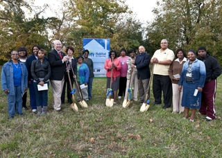 Newport News Shipbuilding and Habitat For Humanity break ground on 10th home