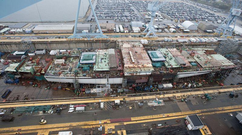Gerald R. Ford (CVN 78) at Newport News Shipbuilding
