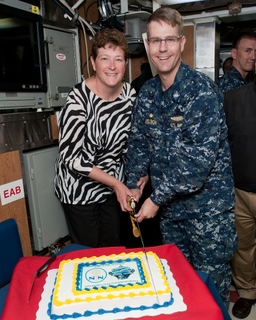 California crew move aboard celebrated