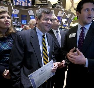 Photo Release -- Huntington Ingalls Industries (HII) Stock Begins Trading on New York Stock Exchange