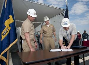 U.S. Navy accepts delivery of William P. Lawrence (DDG 110)