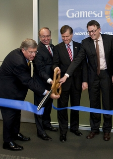 Offshore Wind Technology Center opening