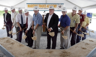 Marine Trades Academy Groundbreaking