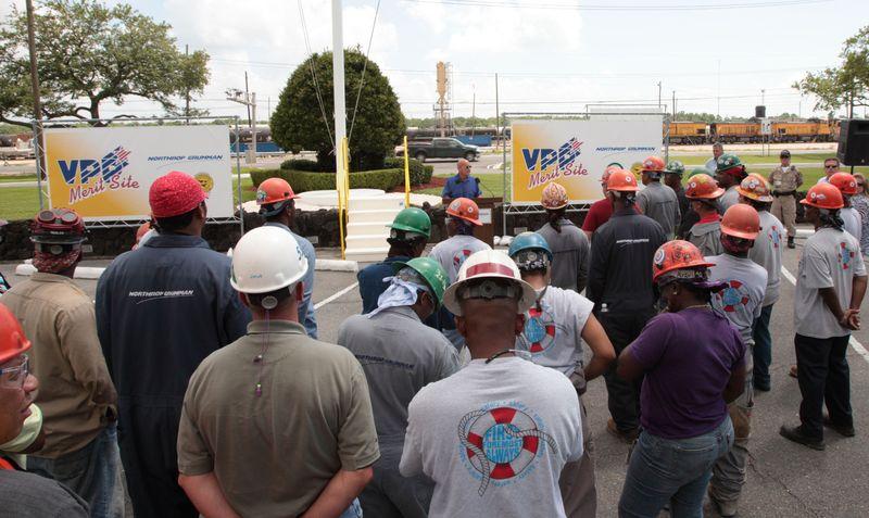 Avondale shipbuilders accepted into OSHA's VPP program