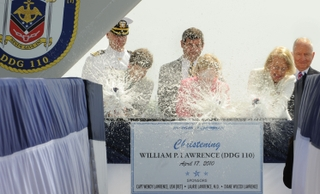 William P. Lawrence Christening