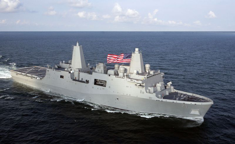New York (LPD 21), Northrop Grumman's fifth ship in the USS San Antonio (LPD 17) class of amphibious transport dock ships