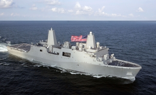 New York (LPD 21), Northrop Grumman's fifth ship in the USS San Antonio (LPD 17) class of amphibious transport dock ships