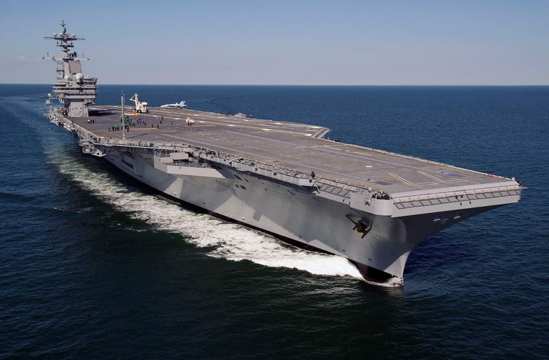 USS George H. W. Bush (CVN 77) will be returning to Northrop Grumman's Shipbuilding sector in Newport News, Va.