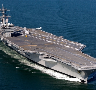 Photo Release--HII Awarded $23.8 Million Modernization Contract for USS George H.W. Bush (CVN 77)