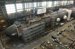 Northrop Grumman Shipbuilding reached an important construction milestone