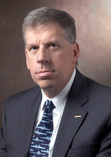 Matthew J. Mulherin, vice president and general manager of Newport News for Northrop Grumman Shipbuilding.