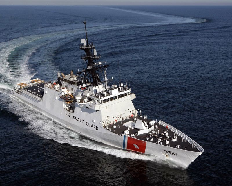 The Northrop Grumman-built National Security Cutter Bertholf (WMSL 750)