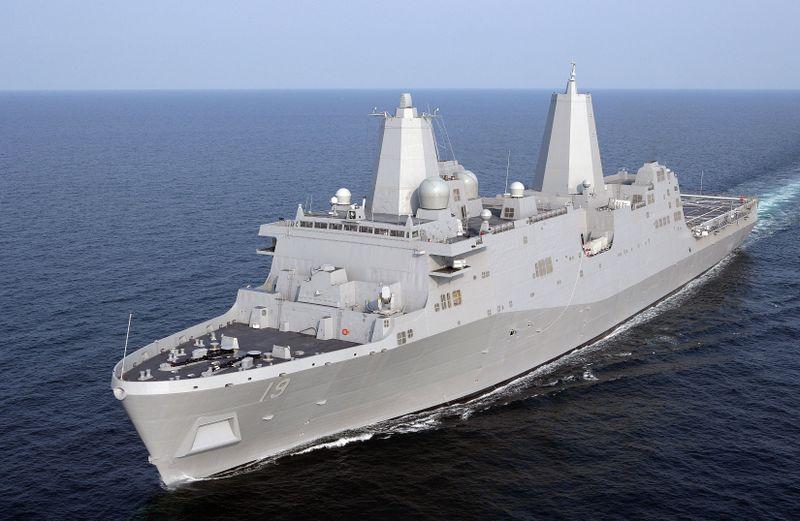 Northrop Grumman was awarded $1 billion contract to build The Somerset (LPD 25)