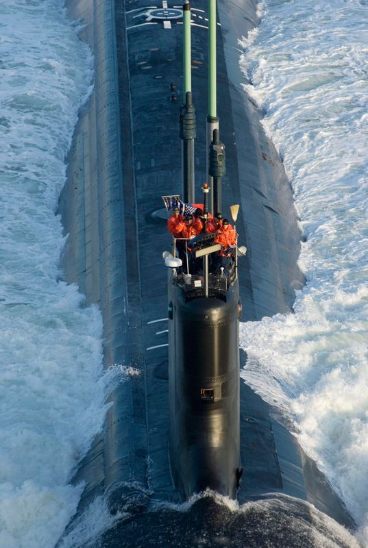 The Virginia-class submarine North Carolina (SSN 777)