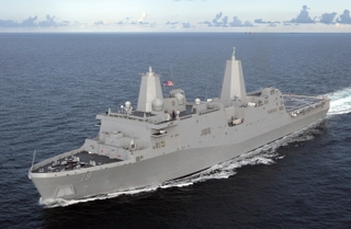 Northrop Grumman's third amphibious transport dock ship Mesa Verde (LPD 19)