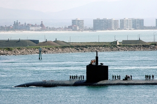 Northrop Grumman Newport News subsidiary AMSEC was awarded a contract by the U.S. Navy for submarine work in San Diego. U.S. Navy Photo