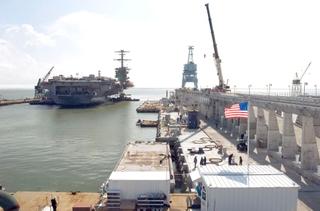 Northrop Grumman undocked the USS Carl Vinson
