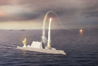 U.S. Navy's Zumwalt-class destroyer (DDG 1000)