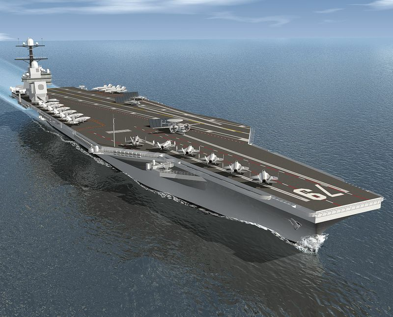 Northrop Grumman received a $24.6 million planning and design contract for CVN 79