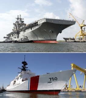 Northrop Grumman Ship Systems completed two major milestones in one week