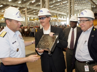 Northrop Grumman Ship Systems president Philip A. Teel