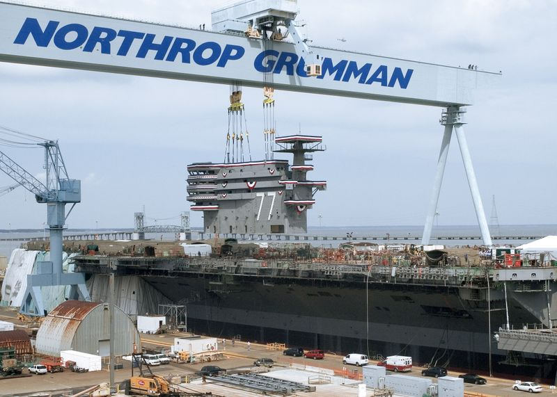 Northrop Grumman reached a major milestone today