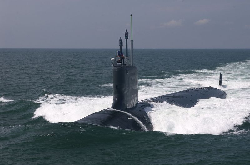 Northrop Grumman delivered the submarine Texas to the Navy