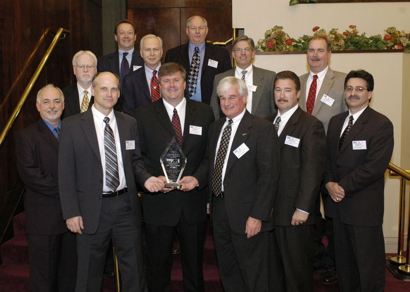 Northrop Grumman Newport News' Program Management Team for the USS George Washington maintenance availability received the Hampton Roads Project of the Year award for successfully managing the comprehensive project.