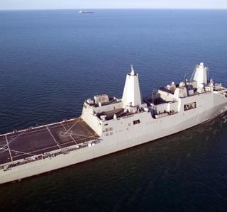 Photo Release -- Northrop Grumman-Built San Antonio (LPD 17) to Leave Pascagoula Shipyard, Ready for Texas Commissioning