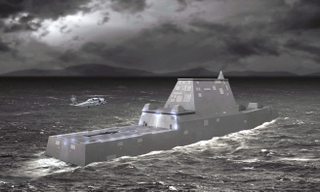 Northrop Grumman was recognized for its composite-to-steel joint development for DD(X)