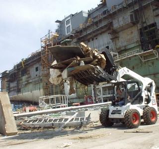 Photo Release -- Northrop Grumman Pascagoula Shipyard Recovery Underway