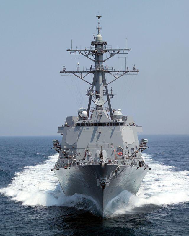 Northrop Grumman Corporation's 23rd Aegis guided missile destroyer USS Forrest Sherman (DDG 98)