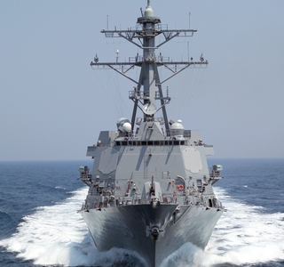 Photo Release -- Northrop Grumman-built Forrest Sherman (DDG 98) Completes Third-ever 'Super' Sea Trial