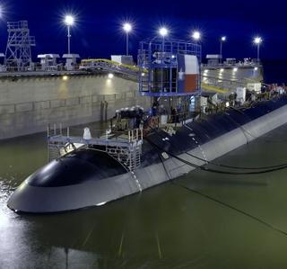 Photo/Video Release -- Northrop Grumman Successfully Launches Virginia-Class Submarine