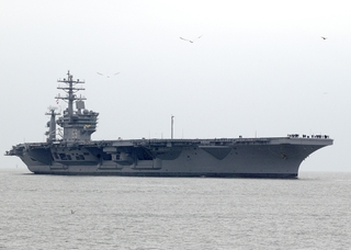 Northrop Grumman Newport News has redelivered to the Navy the nuclear-powered aircraft carrier USS Dwight D. Eisenhower (CVN 69)