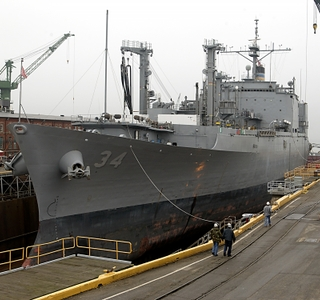 Photo Release -- Northrop Grumman Awarded Contract for Work on USNS Mount Baker