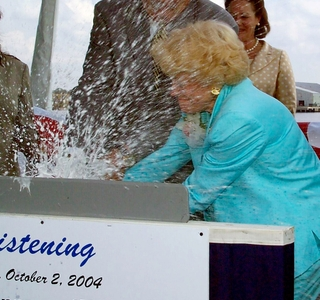Photo Release -- Gala Christening Honors Northrop Grumman-built Aegis Destroyer Forrest Sherman