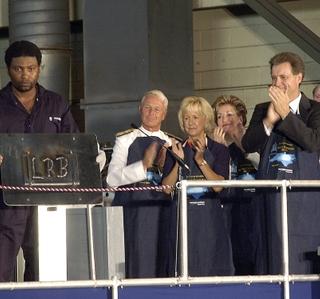 Photo Release -- Northrop Grumman Lays the Keel for Virginia-Class Submarine
