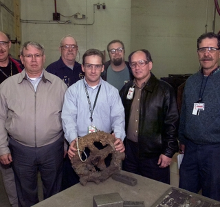 Photo Release -- Northrop Grumman Employees Help Identify USS Monitor Artifacts